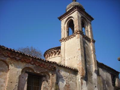 Uno scorcio particolare dell'oratorio dedicato a Sant'Anna