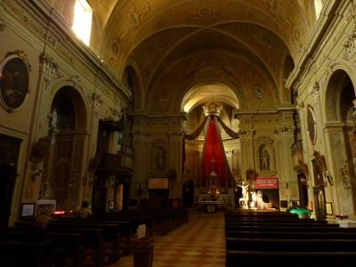 interno chiesa parrocchiale