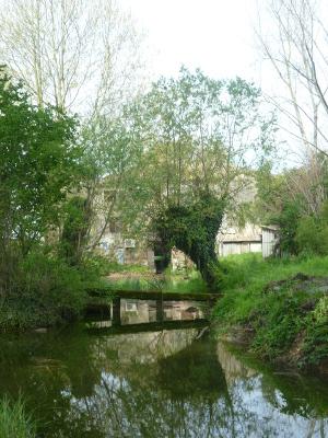 Il mulino, in località Anson
