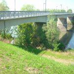 Il ponte sul fiume Adige